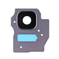 Replacement for Samsung Galaxy S8 Plus SM-G955 Rear Camera Holder with Lens - Orchid Gray