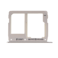 Replacement for Samsung Galaxy A3/A5/A7 (2016) SM-A310/A510/A710 SIM Card Tray - Silver