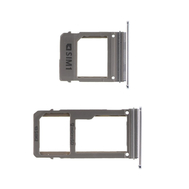 Replacement for Samsung Galaxy A5/A7 (2017) SIM Card Tray - Silver