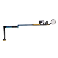 Replacement for iPad 5/iPad 6 Home Button Assembly with Flex Cable Ribbon - White