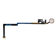 Replacement for iPad 5/iPad 6 Home Button Assembly with Flex Cable Ribbon - Gold