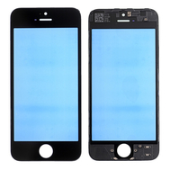 Replacement for iPhone 5 Front Glass with Cold Pressed Frame - Black