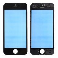 Replacement for iPhone 5S/SE Front Glass with Cold Pressed Frame - Black