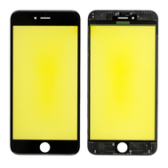 Replacement for iPhone 6S Plus Front Glass with Cold Pressed Frame - Black