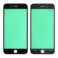 Replacement for iPhone 7 Plus Front Glass with Cold Pressed Frame - Black