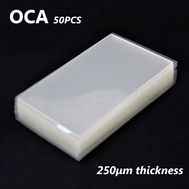 50pcs OCA Optical Clear Adhesive Double-side Sticker for Samsung Galaxy S8 Plus