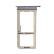 Replacement for Samsung Galaxy S7 Edge SM-G935 SIM Card Tray - Blue Coral