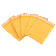 Yellow Envelope Bubble Packing Bag