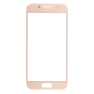 Replacement for Samsung Galaxy A3 (2017) SM-320 Front Glass Lens - Rose Pink