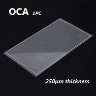 1pcs OCA Optical Clear Adhesive Double-side Sticker for Samsung Galaxy A3 Series LCD Digitizer , Thickness: 0.25mm
