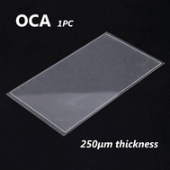 1pcs OCA Optical Clear Adhesive Double-side Sticker for Huawei P8 LCD Digitizer , Thickness: 0.25mm