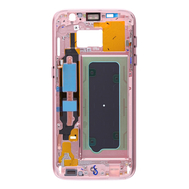 Replacement for Samsung Galaxy S7 SM-G930 Rear Housing Frame - Rose Gold