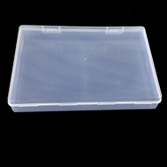Mini Size 105x80x25mm Rectangle Subassembly Wrapper Plastic Component Box