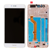 Replacement for Huawei Honor 8 LCD Screen Digitizer with Frame - White