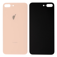 Replacement For iPhone 8 Plus Back Cover - Gold
