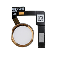 "Replacement for iPad Pro 10.5""/12.9"" 2nd Gen Home Button Assembly with Flex Cable Ribbon - Gold"