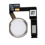 """Replacement for iPad Pro 10.5""""/12.9"""" 2nd Gen Home Button Assembly with Flex Cable Ribbon - Silver"""