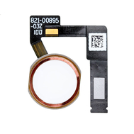 "Replacement for iPad Pro 10.5""/12.9"" 2nd Gen Home Button Assembly with Flex Cable Ribbon - Rose Gold"