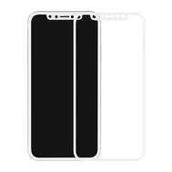 5D White Explosion-Proof Tempered Glass Film for iPhone X