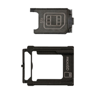 Replacement for Sony Xperia XZ Premium SIM+SD Card Holder Set
