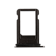 Replacement for iPhone 8 Plus SIM Card Tray with Waterproof Circle - Black