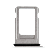 Replacement for iPhone 8 SIM Card Tray with Waterproof Circle - Silver