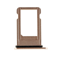 Replacement for iPhone 8 SIM Card Tray with Waterproof Circle - Gold
