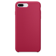 Rose Red Silicone Case for iPhone 7 Plus /8 Plus