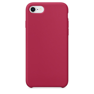 Rose Red Silicone Case for iPhone 7/8