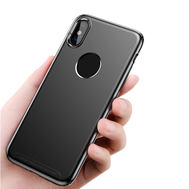 Baseus Luxury Soft Silicone Ultra Thin Simple TPU Shell For iPhone X