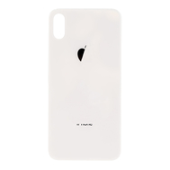 Replacement for iPhone X Back Cover - Silver