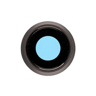 Replacement for iPhone 8 Rear Camera Holder with Lens - Black