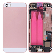 Replacement for iPhone SE Back Cover Full Assembly - Rose