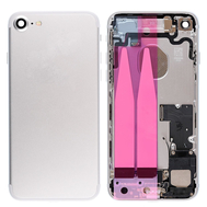 Replacement for iPhone 7 Back Cover Full Assembly - Silver