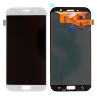 Replacement for Samsung Galaxy A7 2017 SM-A720 LCD Screen with Digitizer Assembly - White
