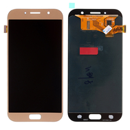Replacement for Samsung Galaxy A7 2017 SM-A720 LCD Screen with Digitizer Assembly - Gold