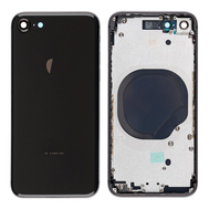 Replacement for iPhone 8 Back Cover with Frame Assembly - Black, fig. 1