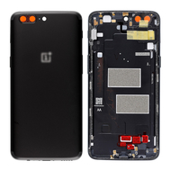 Replacement for OnePlus 5 Back Cover - Midnight Black