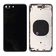 Replacement for iPhone 8 Plus Back Cover with Frame Assembly - Space Gray