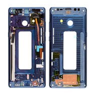 Replacement for Samsung Galaxy Note 8 SM-N950 Rear Housing Frame - Blue