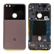 Replacement for Google Pixel Battery Door with Rear Housing - Black