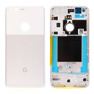 Replacement for Google Pixel Battery Door with Rear Housing - White