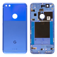 Replacement for Google Pixel Battery Door with Rear Housing - Blue