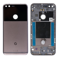 Replacement for Google Pixel XL Battery Door with Rear Housing - Black