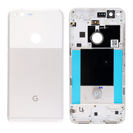 Replacement for Google Pixel XL Battery Door with Rear Housing - White