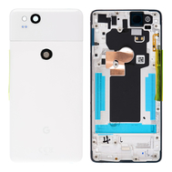 Replacement for Google Pixel 2 Battery Door with Rear Housing - White