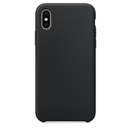 Silicone Case for iPhone X, Color: Black