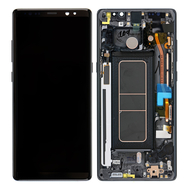 Replacement for Samsung Galaxy Note 8 SM-N950 LCD Screen Assembly with Frame - Black