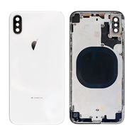 Replacement for iPhone X Rear Housing with Frame - Silver