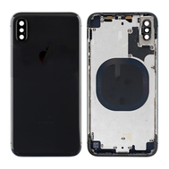 Replacement for iPhone X Rear Housing with Frame - Space Gray